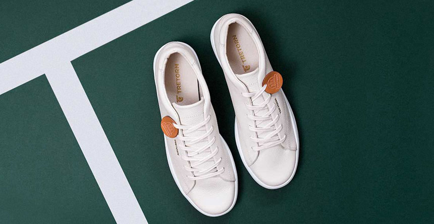 Tretorn Tournament Leather Sneaker